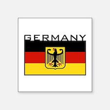 "Cute Germany Square Sticker 3"" x 3"""