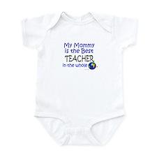 Best Teacher In The World (Mommy) Infant Bodysuit
