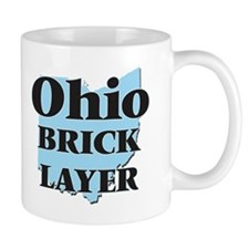 Ohio Brick Layer Mugs