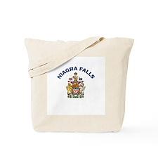 Niagra Falls Coat of Arms Tote Bag