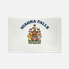 Niagra Falls Coat of Arms Rectangle Magnet