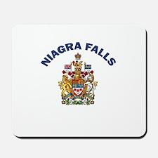 Niagra Falls Coat of Arms Mousepad