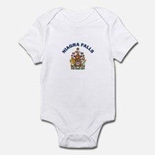 Niagra Falls Coat of Arms Infant Bodysuit