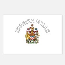 Niagra Falls Coat of Arms Postcards (Package of 8)