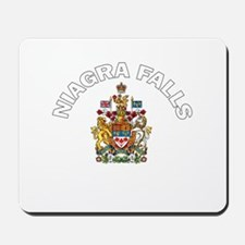 Niagra Falls Coat of Arms Mousepad