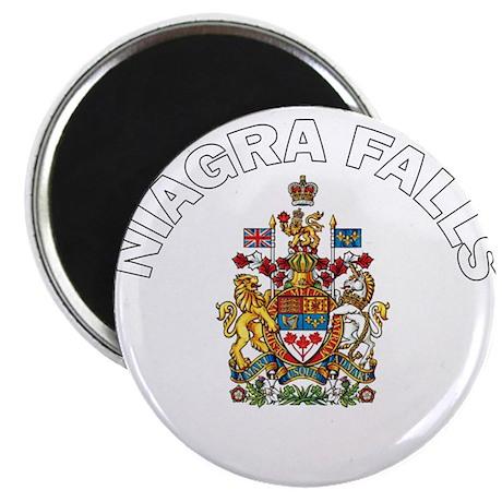 "Niagra Falls Coat of Arms 2.25"" Magnet (100 pack)"