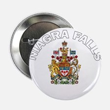 Niagra Falls Coat of Arms Button