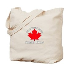 I'd Rather Be in Niagra Falls Tote Bag