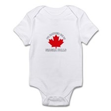 I'd Rather Be in Niagra Falls Infant Bodysuit