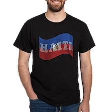 Haiti Flag (Dis) T-Shirt