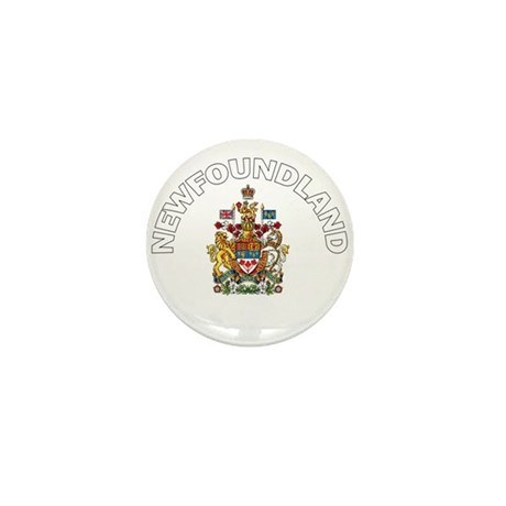 Newfoundland Coat of Arms Mini Button