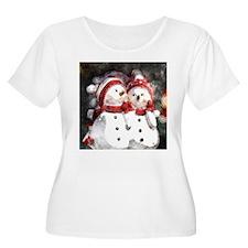 Snowman20150908 Plus Size T-Shirt