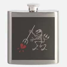ST6 Pirate Flag Flask
