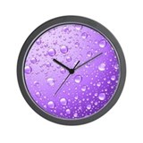 Purple Wall Clocks