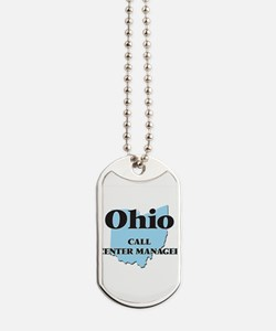 Ohio Call Center Manager Dog Tags