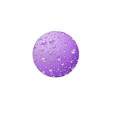 Metallic Purple Abstract Ra Mini Button (100 pack)
