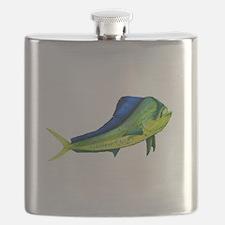 Bull Mahi Mahi Flask