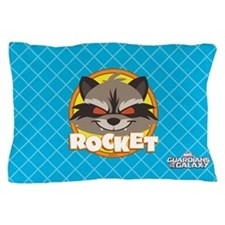 GOTG Animated Rocket Cute Pillow Case