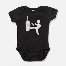 Kickboxing Bag Baby Bodysuit
