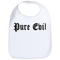 Pure Evil Bib