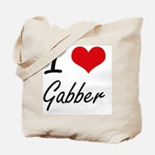 I Love GABBER Tote Bag