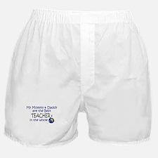 Best Teachers In The World Boxer Shorts