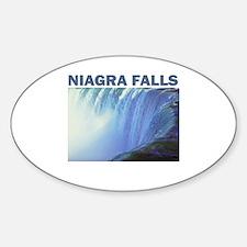 Niagra Falls Oval Bumper Stickers