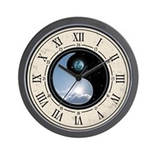 Sun-Moon Yin-Yang Wall Clock