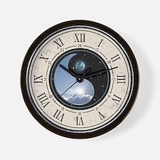 Sun-Moon Yin-Yang Wall Clock