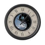 Sun-Moon Yin-Yang Large Wall Clock
