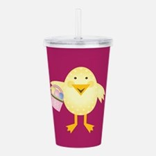 Easter Chick Acrylic Double-wall Tumbler