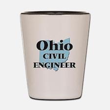 Ohio Civil Engineer Shot Glass