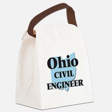 Ohio Civil Engineer Canvas Lunch Bag