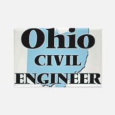 Ohio Civil Engineer Magnets
