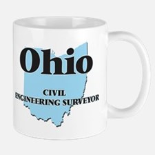 Ohio Civil Engineering Surveyor Mugs