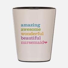 Amazing Nursemaid Shot Glass