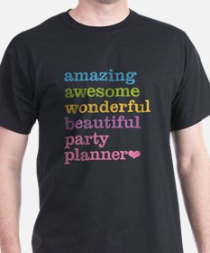 Amazing Party Planner T-Shirt