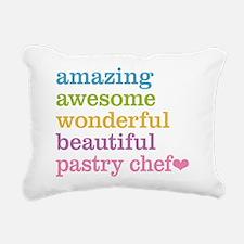 Amazing Pastry Chef Rectangular Canvas Pillow