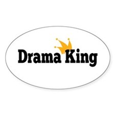 Drama King Stickers