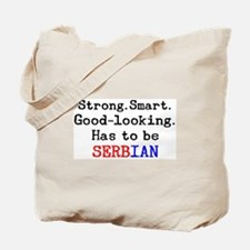 be serbian Tote Bag