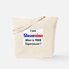 i am slovenian Tote Bag