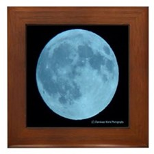 Once in a Blue Moon Framed Tile