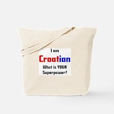 i am croatian Tote Bag