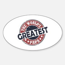 Worlds Greatest Papa Decal