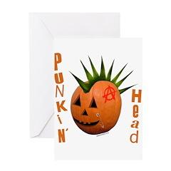 Punkin' Head Greeting Card
