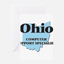 Ohio Computer Support Specialist Greeting Cards