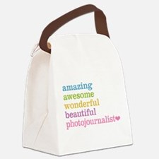 Amazing Photojournalist Canvas Lunch Bag