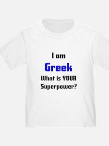 i am greek T