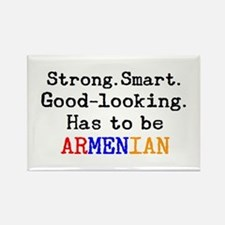 be armenian Rectangle Magnet