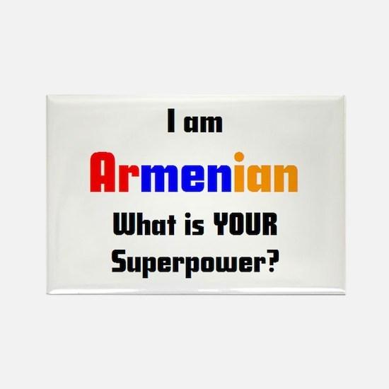 i am armenian Rectangle Magnet